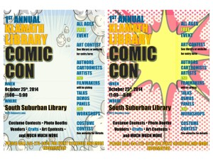 comiccon flyers