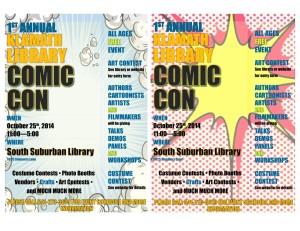comiccon flyers